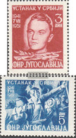 Yugoslavia 658-659 (complete Issue) Unmounted Mint / Never Hinged 1951 Occupying Powers - Ungebraucht