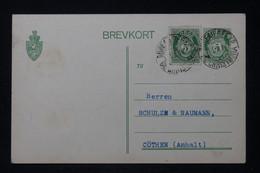 NORVÈGE - Entier Postal + Complément De Kristiana En 1914 Pour Cothen - L 88273 - Postal Stationery