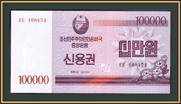 North Korea 100000 Won 2003 P-904 UNC - Korea, North