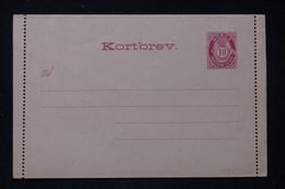 NORVÈGE - Entier Postal ( Carte Lettre ) Non Circulé - L 88279 - Postal Stationery