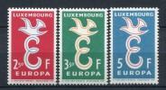 Europa CEPT 1958 Luxemburgo ** MNH. - 1958