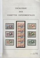 Gérard GOMEZ 1996 - Catalogue Des Vignettes Expérimentales 2ème édition - France