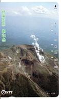 Montagne Mountain Télécarte Phonecard Japon (T 77) - Montagne