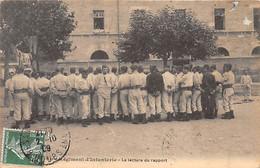 BESANCON - 60e Régiment D'Infanterie - La Lecture Du Rapport - Très Bon état - Besancon