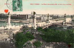 42424-ZE-75-TOUT PARIS-Le Pont Alexandre-III,la Gare Des Invalides - Stations, Underground
