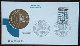 YT N°1480 - Echecs - LOISIRS 66 / FOIRE DE PARIS - 1966 - Briefe U. Dokumente