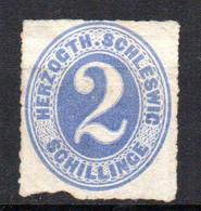 Allemagne Schleswig N° 22 Neuf No Gum Cote 40€ - Schleswig-Holstein