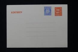 NORVÈGE - Entier Postal ( Enveloppe ) Non Circulé - L 88296 - Postal Stationery