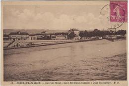 33  Bordeaux   Gare De L'etat  - Gare Bordeaux - Cadillac -  Quai Deschamps - Bordeaux