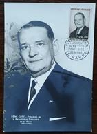 CM 1964 - YT N°1412 - Président RENE COTY - LE HAVRE - 1960-69