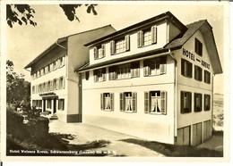 """CP De SCHWARZENBERG """" Hotel Welsses Kreuz - Luzern  """" - LU Lucerne"""