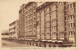 54 Champigneulles  - Grandes Brasseries Et Malteries -  Camions De Livraison - Nancy