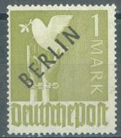 BERLIN - 1948 - MNH/** - BLACK BERLIN OVERPRINT 1 Mark - Yv 17 Mi 17  - Lot 23338 - INK TRACE SEE SCANS - Nuevos
