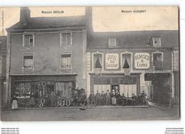 CPA 72 Bouloire Maison Beslin Et Maison Audinot Hotel - Bouloire