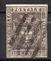 Italie Toscane Gouvernement Provisoire N° 13 Oblitéré Used   Cote 45,00€ - Toskana