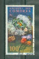 ARCHIPEL DES COMORES - POSTE AERIENNE N° 5 Oblitéré - Flore Marines - Composition Sous-marine. - Poste Aérienne