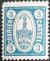 Germany Stadtpost/Privatpost Cassel /  Kassel 1894  3 Pfg Michel 6 Unused - Sello Particular