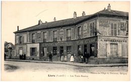 91 LIERS - Les Trois Routes - Autres Communes
