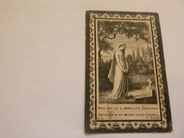 Doodsprentje  ( 5804 )  Mandeville  /  Gaeremyn       -   Lichtervelde  -   1904 - Todesanzeige