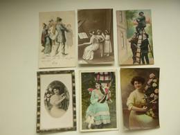 Beau Lot De 20 Cartes De Fantaisie  Musique        Mooi Lot Van 20 Postkaarten Muziek - 5 - 99 Karten