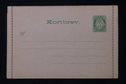 NORVÈGE - Entier Postal ( Carte Lettre Enveloppe ) Non Circulé - L 88321 - Postal Stationery