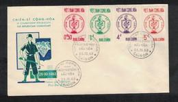 Yvert 218 / 21 - 1° Jour - Vietnam