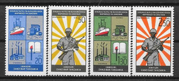 Zanzibar N° 324/27 Yvert NEUF * - Zanzibar (1963-1968)