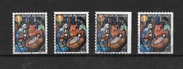 Kerstzegels 2019° -a-b-c- (hoek/coin) - Used Stamps