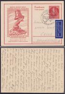 P 29, Bedarf Als Inlands-Luftpost, Viel Text - Postales - Usados