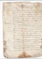 Manuscrit 1652. Voir Scans - Manuskripte