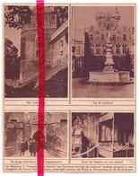 Orig. Knipsel Coupure Tijdschrift Magazine - Gaasbeek - Opening Kasteel Als Museum - 1924 - Ohne Zuordnung