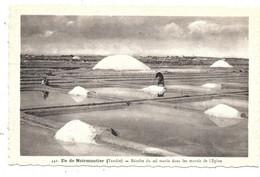 Ile De Noirmoutier NA2: Récolte Du Sel Marin Dans Les Marais De L'Epine - Ile De Noirmoutier