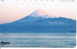 Montagne Mountain Télécarte Phonecard Japon (T 80) - Montagne