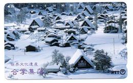 Montagne Mountain Télécarte Phonecard Japon (T 83) - Montagne