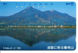Montagne Mountain Télécarte Phonecard Japon (T 85) - Montagne