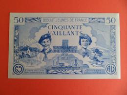 Billet De 50 Vaillants - 1ère Série /C - 1935-1945 - Billet Coeur Vaillant Et Ame Vaillante - Signé FA Breysse - Andere