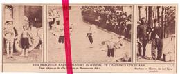 Orig. Knipsel Coupure Tijdschrift Magazine - Charleroi - Carnaval Cortège , Stoet - 1924 - Non Classés
