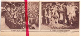 Orig. Knipsel Coupure Tijdschrift Magazine - Charleroi - Carnaval Cortège , Stoet Moderne Excentrieken Brussel - 1924 - Non Classés