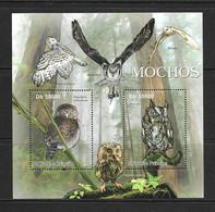 SAO TOME-SAINT THOMAS 2011 HIBOUX  YVERT N°3810/11 NEUF MNH** - Owls