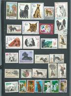 Lot De 29 Timbres , Chiens  Divers Oblitérés -  Pal 3802 - Dogs