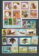 Lot De 27 Timbres , Chiens  Divers Oblitérés -  Pal 3803 - Dogs
