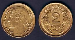 2 F 1931 MORLON TTB - I. 2 Francs
