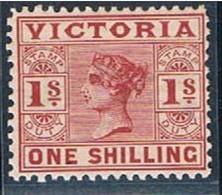 Victoria, 1886/8, # Y 98, MH - Nuevos