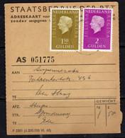 Adreskaart Supermercado Fahrenheitstraat Den Haag 1973 (p62) - Briefe U. Dokumente