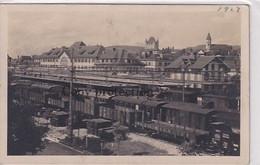 Thun - Neuer Bahnhof - Züge - 1923         (P-299-01104) - BE Berne