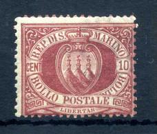 1894-99 SAN MARINO N.28 * - Unused Stamps