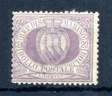 1894-99 SAN MARINO N.29 * - Unused Stamps