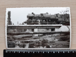 #17 PHOTO ORIGINALE - Locomotive - Train - Trains