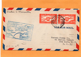 Portugal 1939 Air Mail Cover Mailed - Briefe U. Dokumente