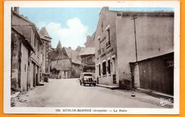 CPA (12) MUR-DE-BARREZ / La Poste  (Voir Photo Et Détail) - Autres Communes